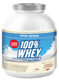 Body Attack | 100% Whey Protein - 2,3kg