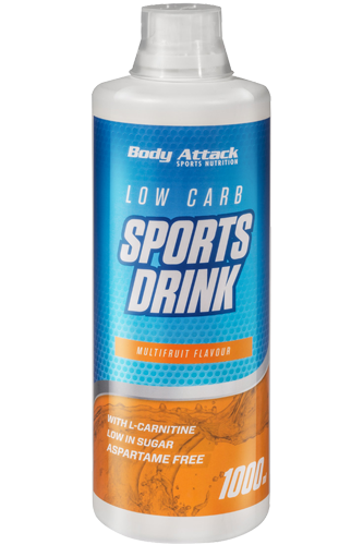 Body Attack | Low Carb Sports Drink - 1000 ml